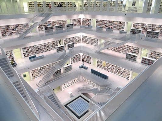 Stuttgart bibliotheek