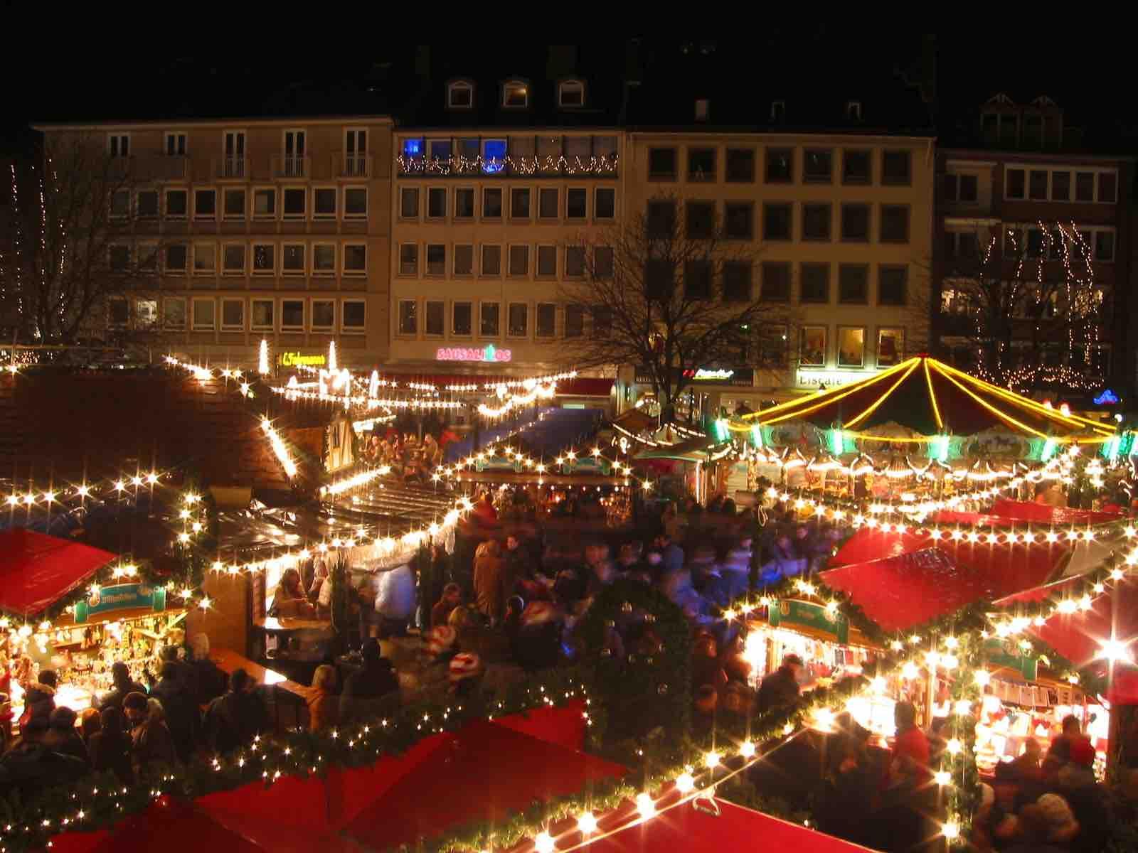 Aachen tijdens kerst