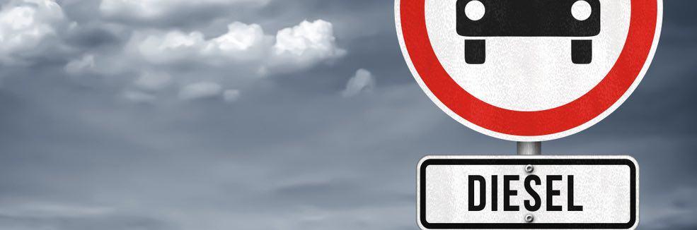 verboden voor diesels