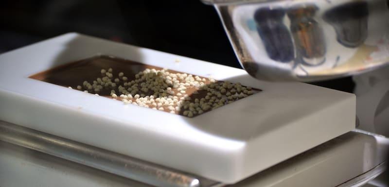 maak je eigen chocoladereep in het Schokoladenmuseum atelier