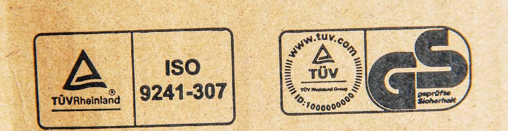 Sticker Duitsland bij Tuv