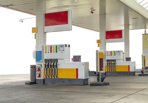 een milieusticker kopen bij het tankstation